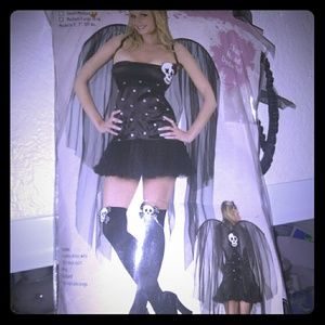 Skull fairy costume